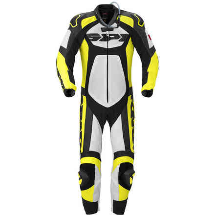 Tronik Wind Pro black-yellow fluo Suit  Spidi