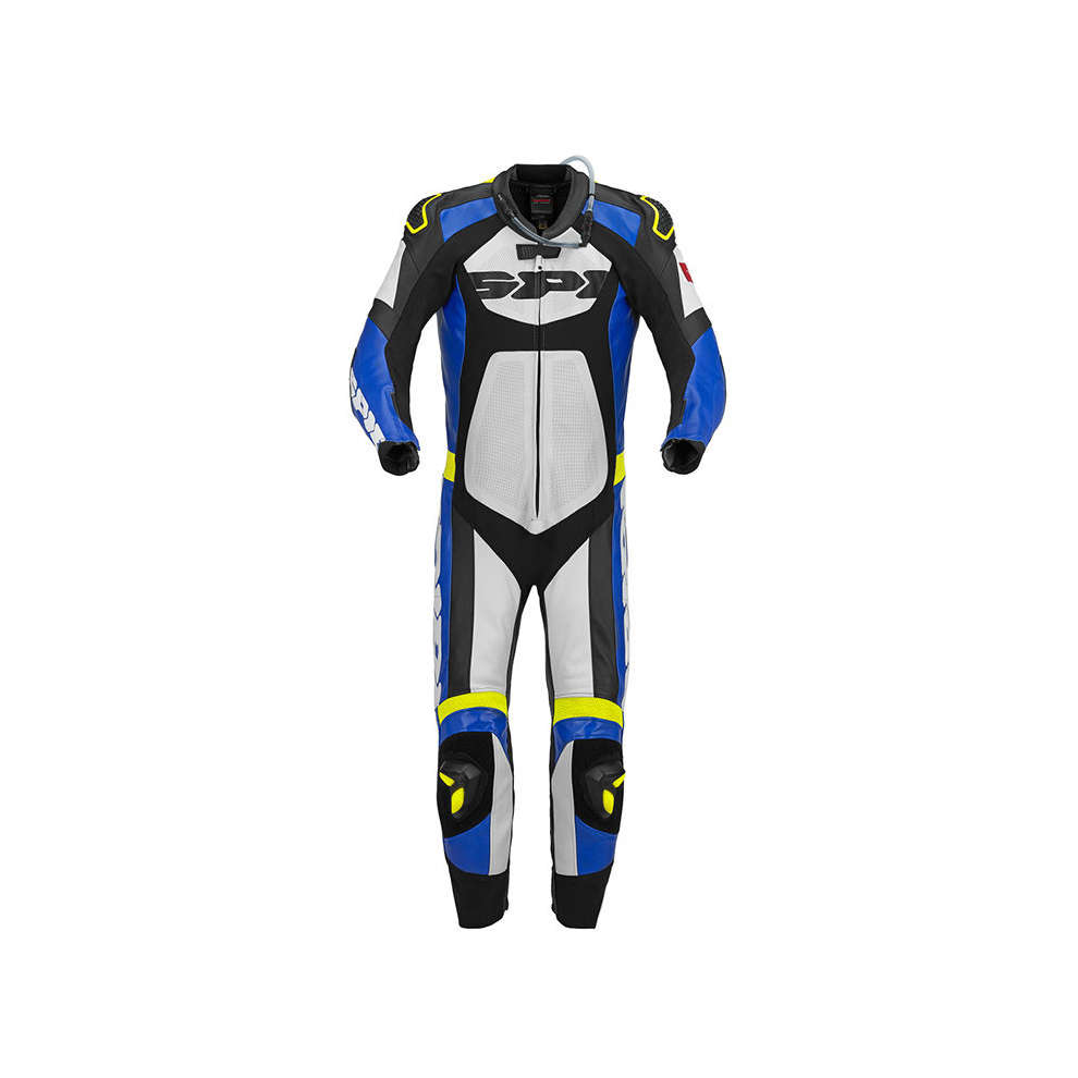 Tronik Wind Pro blue-yellow Suit  Spidi