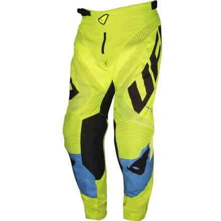 Trousers Cross Division Blue-Yellow Fluo Ufo