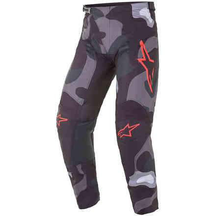 Trousers Cross Racer Tactical  Gray  Red Alpinestars
