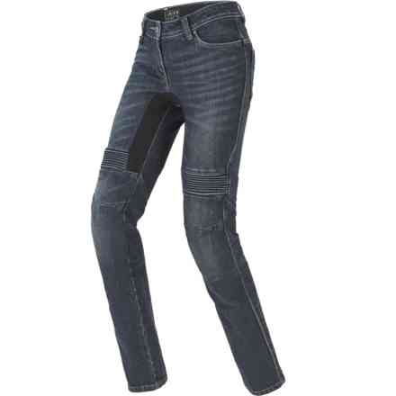 Trousers Furious Pro Lady Blue Dark Used Spidi