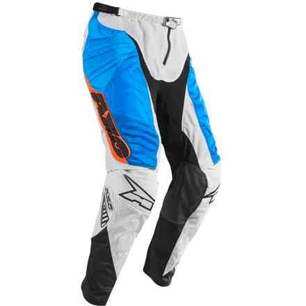 Trousers Prisma White/Blu/Orange Axo