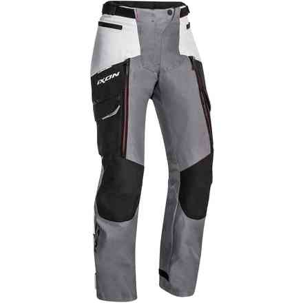 Trousers Sicilia Lady Black Gray Red Ixon
