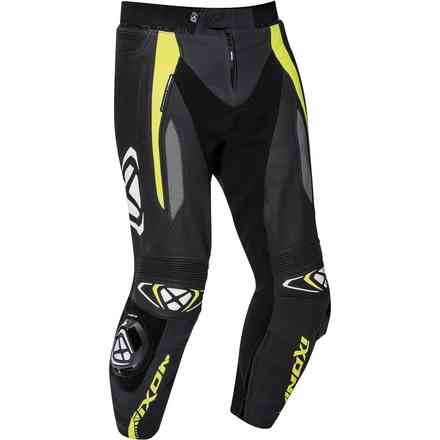 Trousers Vortex 2 Black Gray Yellow Ixon