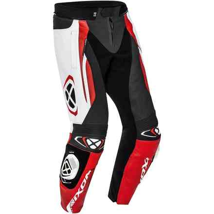 Trousers Vortex 2 Black White Red Ixon