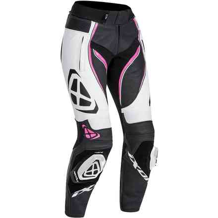 Trousers Vortex Lady Black White Fuchsia Ixon