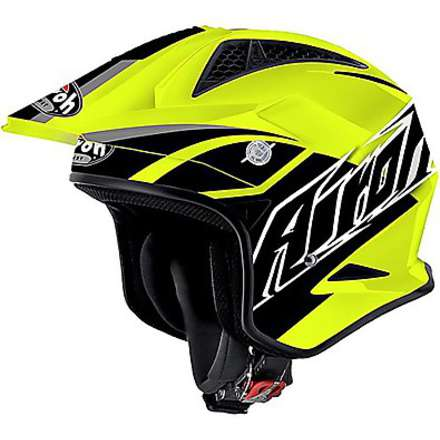TRR Breaker yellow Helmet Airoh