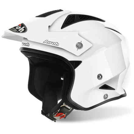 Trr S Color white Helmet Airoh