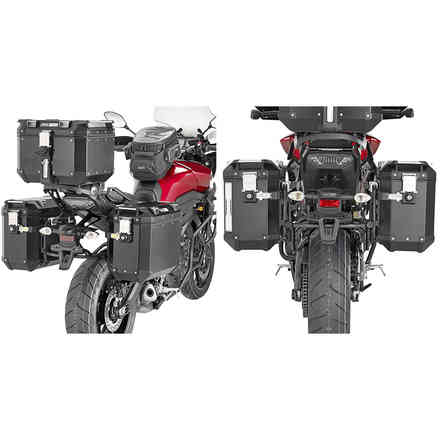 Tubolar side-case holder MONOKEY® CAM-SIDE Trekker Outback Givi