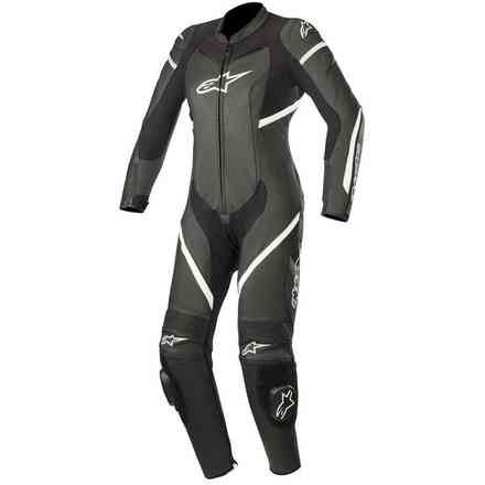 Tuta Alpinestars Stella Kira 1pc Leath Nero - Bianco Alpinestars