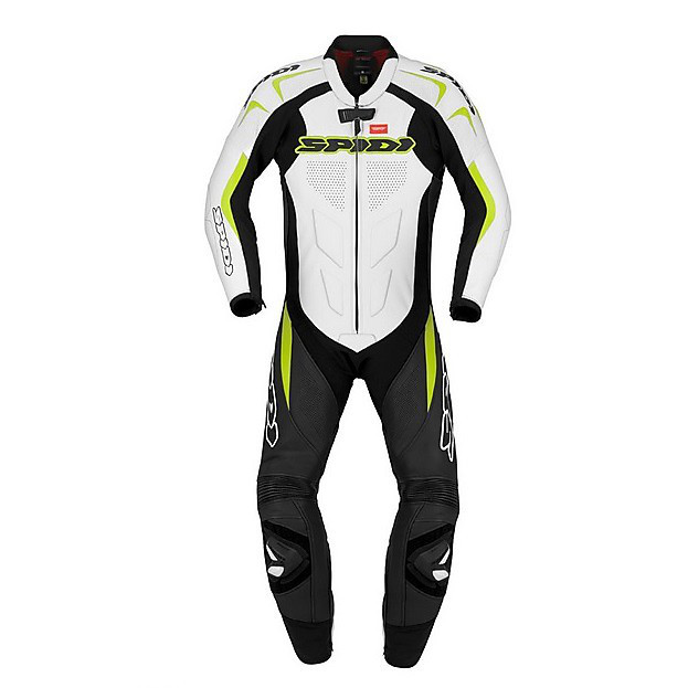Tuta Supersport Wind Pro verde acido-nero Spidi