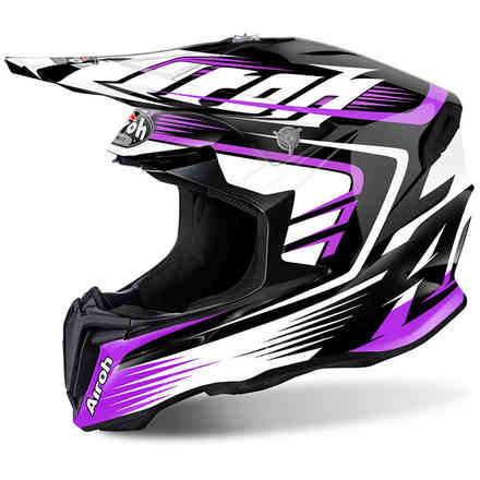 Twist Mix violet Helmet Airoh