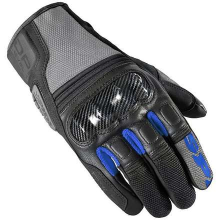 Tx-2 Gloves Black-Blu Spidi