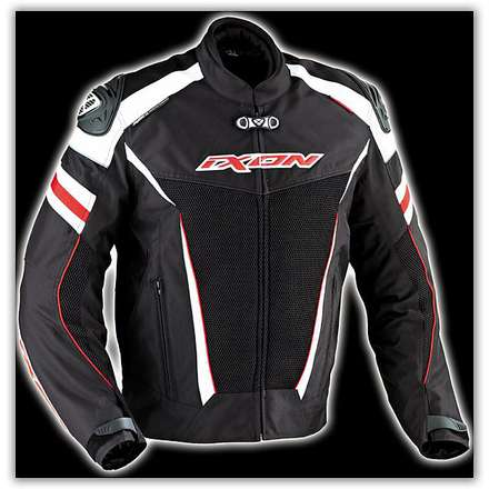 Typhon Race HP    Black /White/Red Waterproof jacket Ixon