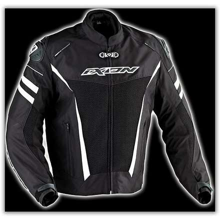Typhon Race HP    Black /White Waterproof jacket Ixon