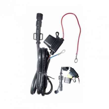 Universal battery connection kit for motor battery. Klan