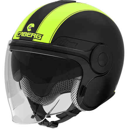Uptown Legend matte black-yellow fluo Helmet  Caberg