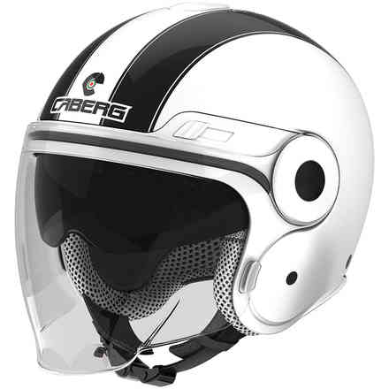 Uptown Legend  white-black Helmet  Caberg