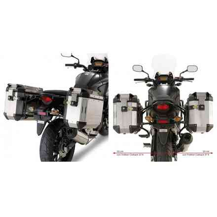 Valise Side Honda Cb500x (2013) Givi