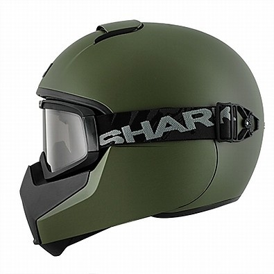 Vancore Blank Helmet military green Shark