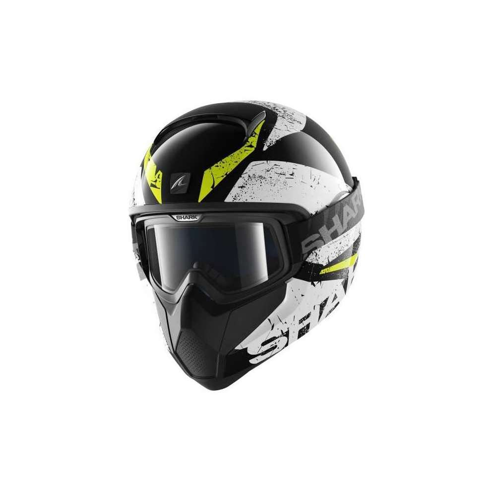 Vancore Braco black-yellow Helmet  Shark