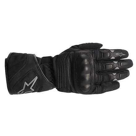 Vega Drystar Black Gloves Alpinestars