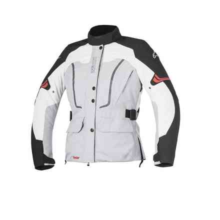 Vence Drystar gray black lady  Jacket Alpinestars