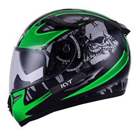 Venom Strike helmet Black-Green KYT