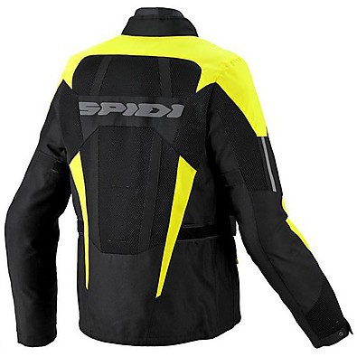 Ventamax H2Out Jacket black-yellow Spidi