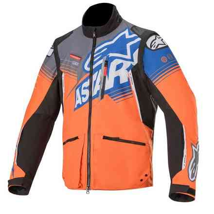 Venture Rcross jacket orange grey blue Alpinestars