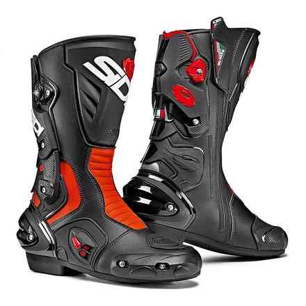 Vertigo 2 Boots Black Red Fluo Sidi