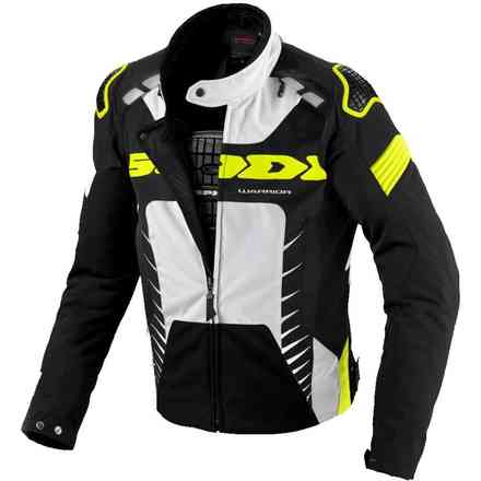 Vest Warrior Tex noir jaune neon Spidi