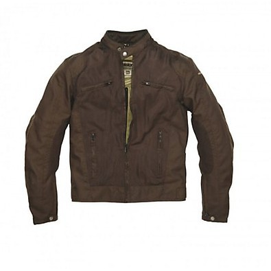 Veste District Brun Helstons
