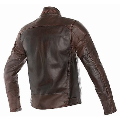 Veste en cuir Mike marron Dainese