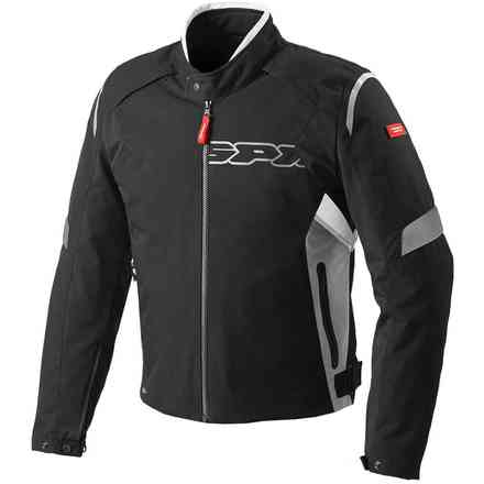 Veste Flash H2out noir gris blanc Spidi