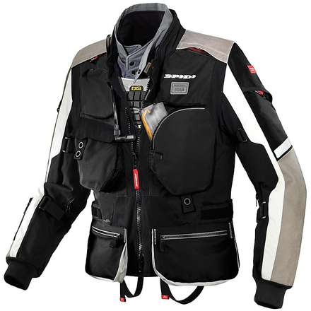 Veste Hard Track H2Out noir Spidi