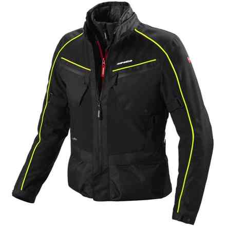 Veste Intercruiser H2out noir jaune Spidi