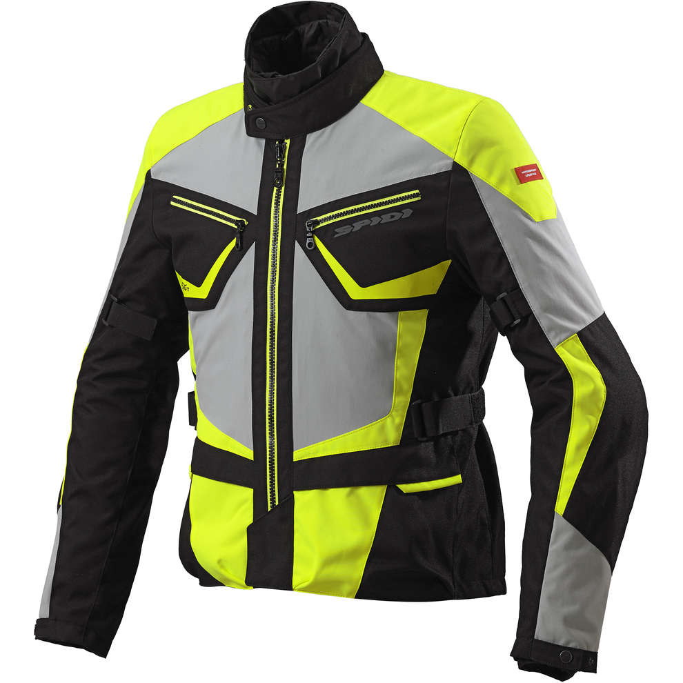 Veste Multiwinter H2Out jaune fluo Spidi