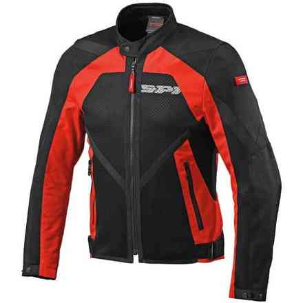 Veste  Netstream rouge-noir Spidi