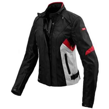 Veste pour femme Flash H2out noir gris rouge Spidi