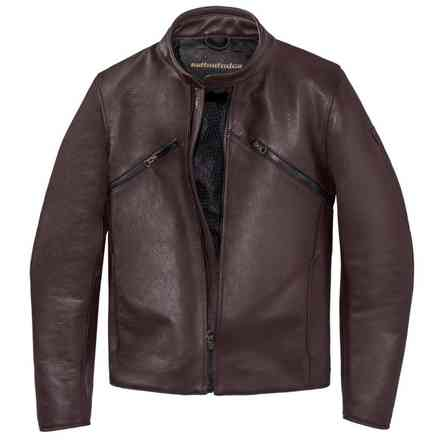 Veste Prima72 Leather Jacket marron Dainese