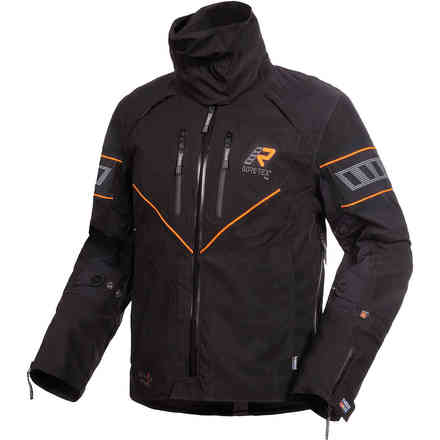 Veste Realer Gore-Tex noir orange RUKKA