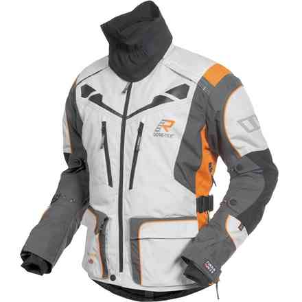 Veste Roughroad Gore-tex blanc orange RUKKA