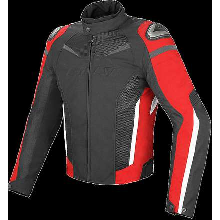 Veste Super Speed D-Dry noir-rouge Dainese