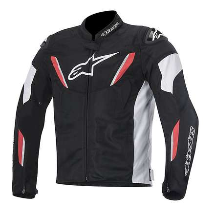 Veste T-gp R Air noir-rouge Alpinestars