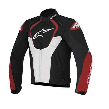 Veste T-Jaws Waterproof 2017 noir blanc rouge Alpinestars