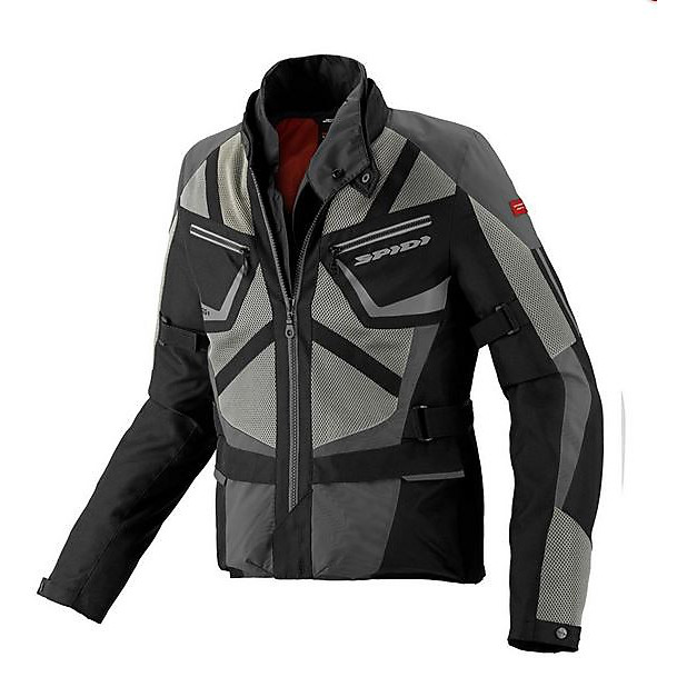 Veste Ventamax H2Out noir-gris Spidi