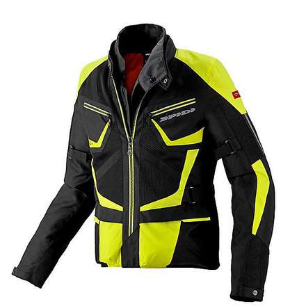 Veste Ventamax H2Out noir-jaune Spidi