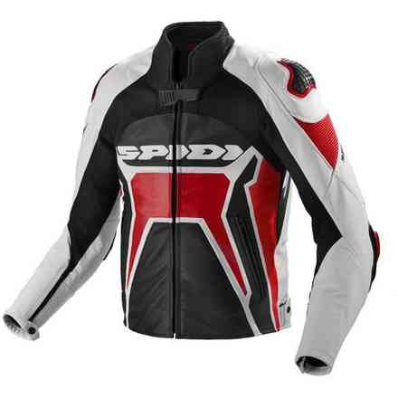 Veste Warrior 2 noir rouge Spidi