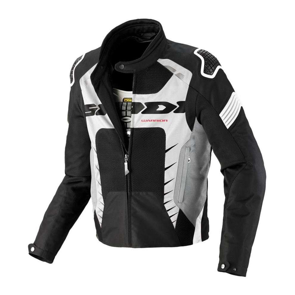 Veste Warrior Net noir-blanc Spidi